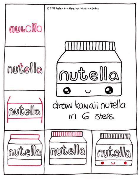 how to do doodle today kawaii drawings step by step