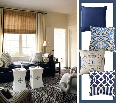 designs for living rooms in navy and beige blue beige living room
