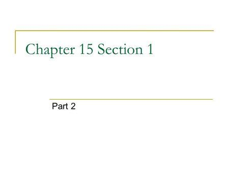 chapter 15 section 2 chapter 10 lesson 1 the role of the catholic church ppt