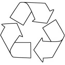 recycle sign template recycling sign coloring page signage