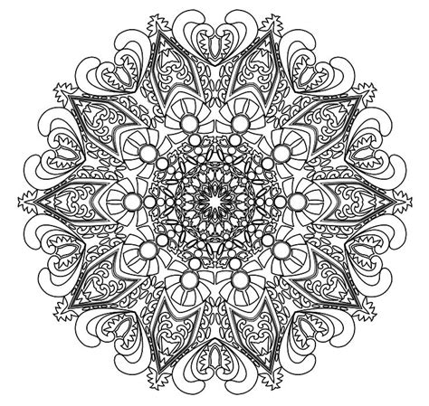 mandala designs coloring book mandala coloring pages advanced level printable 24295