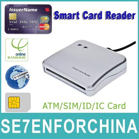 smart card reader untuk for sim card atm card ic id card smart card reader and writer iso 7816 for ic id sim atm