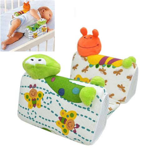 baby infant newborn frog anti roll pillow