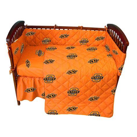 orange bed in a bag oklahoma state cowboys crib bed in a bag orange