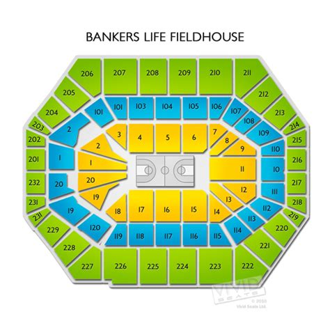 bankers fieldhouse seating chart with rows bankers fieldhouse tickets bankers fieldhouse