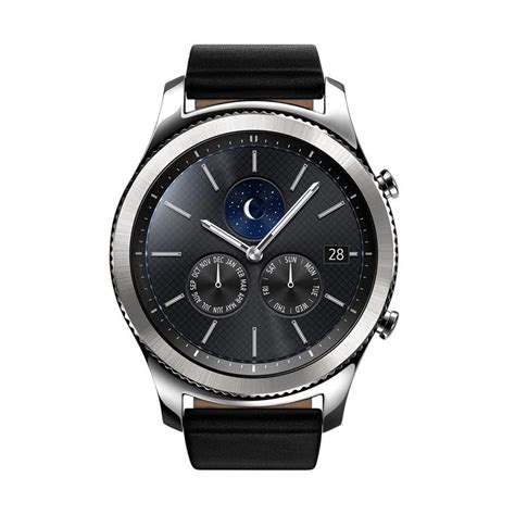 Harga Samsung S3 Classic jual samsung gear s3 classic with black leather