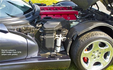 how cars engines work 2001 dodge viper spare parts catalogs the original dodge viper 1992 2002 including rt 10 and gts