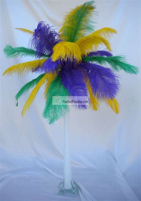 ostrich feather centerpieces for sale wholesale mix sorted color ostrich feather centerpieces