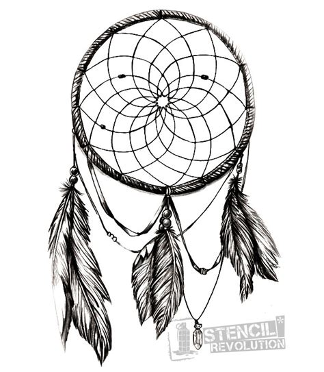 dreamcatcher tattoo template dream catcher stencil printable stencils dream catchers