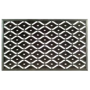 Rubber Entry Mat Eye Pin Rubber Door Mat By Imports Decor In Doormats