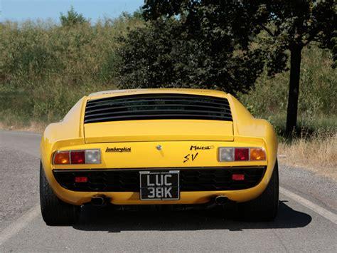 Rod Stewart Lamborghini For Sale Lamborghini Miura Sv Owned By Rod Stewart