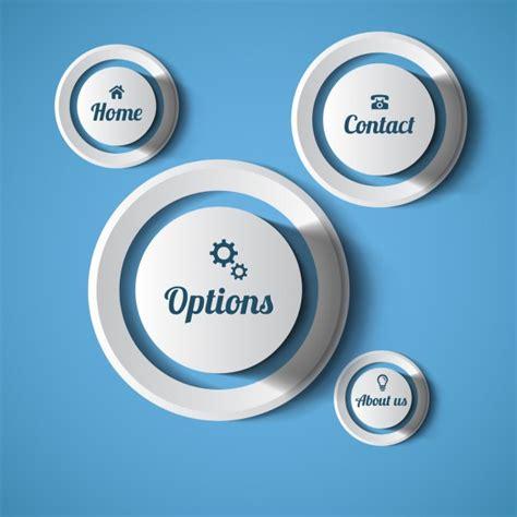 scaricare web gratis pulsanti web arrotondati scaricare vettori gratis