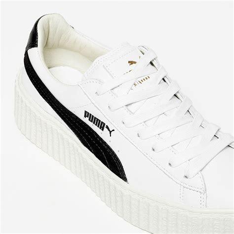 Sneakers Murah Rihana White Black rihanna creeper white black 364462 01 sneakernews