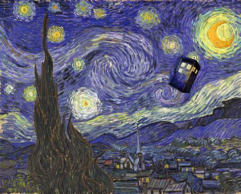 starry night popped culture gotham starry night and other van gogh