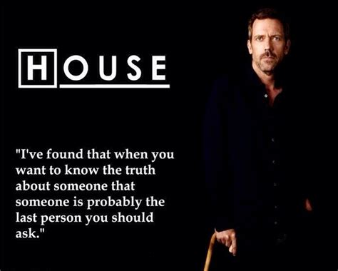 Charming Life Pattern House M D Quote Hugh Laurie Truth House Md Pinterest Hugh