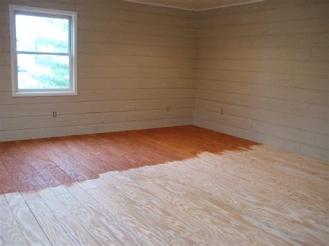 Plywood Floors Diy by Diy Plywood Flooring In Rooms Wallpaper