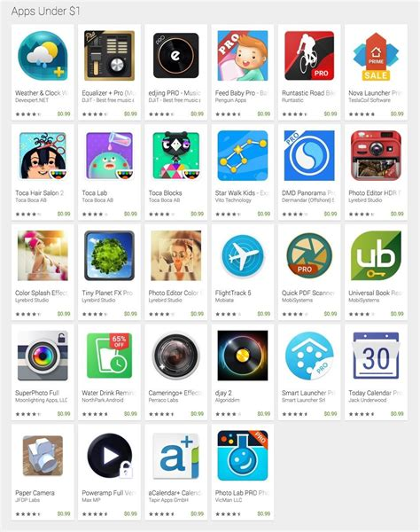 Play Store Sale Limited Time Only Play Apps On Sale For A