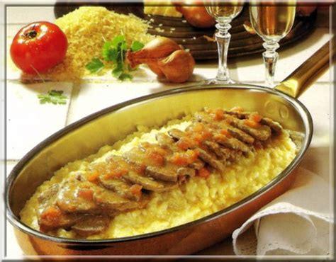 cuisine roti de veau r 244 ti de veau risotto a vos assiettes recettes de
