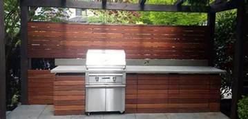 Cedar Plank Grilling Outdoor Kitchen Amp Bbq Area Batu Hardwood Contemporary
