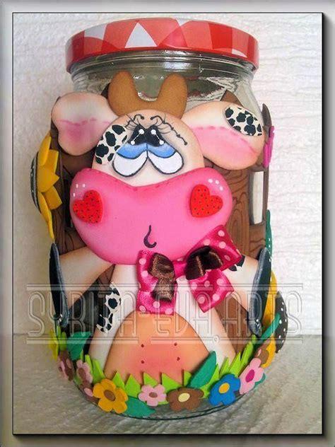 decorar frascos de vidrio con goma eva 415 best images about goma eva on pinterest manualidades