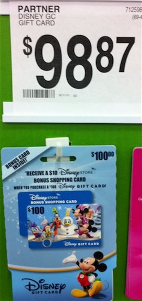 How To Get Disney Gift Cards Cheap - parksaver sam s club offers discounted disney gift cards plus disney store bonus