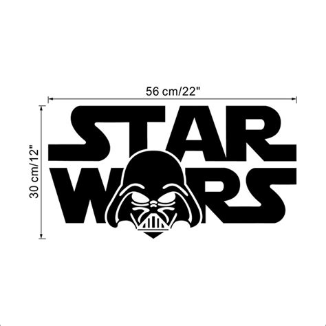 wars wall sticker darth vader wars wall decal