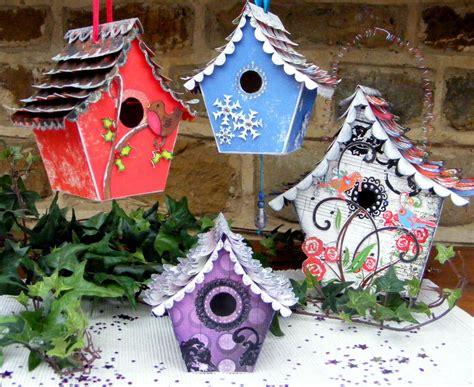 decorated homes decorated bird houses www pixshark com images