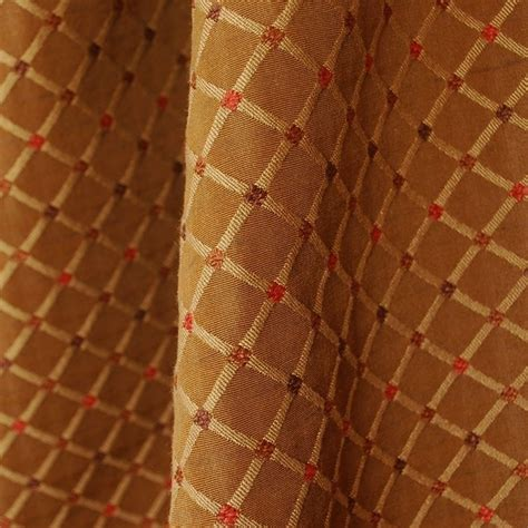Woven Upholstery Fabric For Sofa by Trellis Woven Bronze Upholstery Fabric Ebay