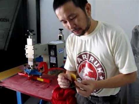 Mesin Press Kulit Besi Singlehot Press Machine mesin sting embos lz90 pnumetic dengan kompressor ba doovi
