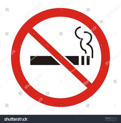 no smoking sign eps file red round no smoking sign vector file 49397341