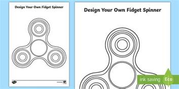 design your own template design your own fidget spinner activity sheet fidget