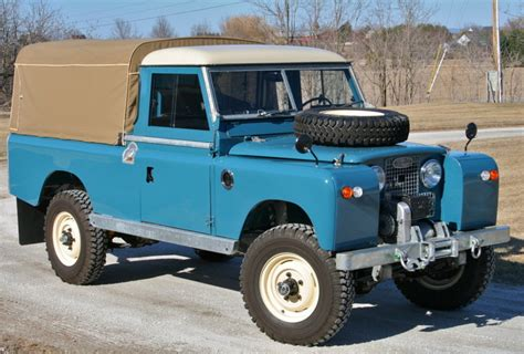 toyota land rover truck restored 1963 land rover series 2a 109 pick up for sale on