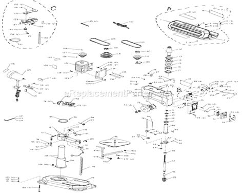 bench press parts craftsman 152229010 parts list and diagram