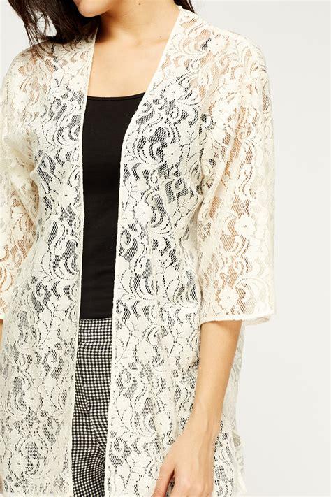 Lace Cardigan lace cardigan just 163 5
