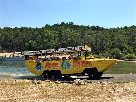 duck boat tours at beavers bend broken bow duck tours boat picture of broken bow lake