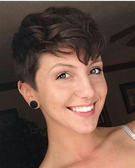 curly pixie curly combed back on top and sides 17 best ideas about wavy pixie on pinterest wavy pixie