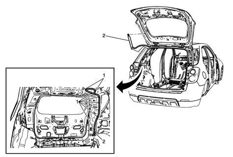repair instructions liftgate hydraulic actuator replacement 2011 chevrolet equinox equinox