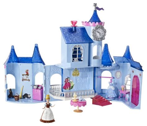 Zoobles Treehouse Playset - disney princess x2842 castello di cenerentola small doll mini bambole giocattoli