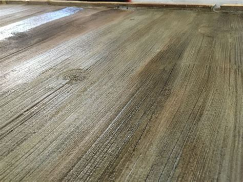 where to get barn wood stained concrete floors that look like barn wood to get