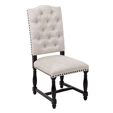 Z Gallerie Dining Room Chairs 299 Montecito Tufted Side Chair Dining Chairs Dining