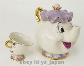 and the beast pot and the beast teapot mug mrs potts chip tea pot