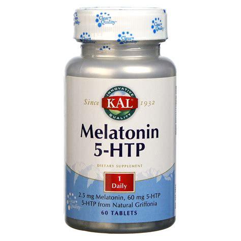 Does Melatonin Detox Brain by Kal Melatonin 5 Htp 60 Tablets Evitamins