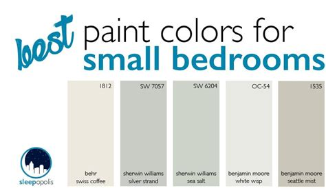paint colors for small rooms small bedroom design sleepopolis