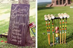 Homemade Backyard Games The Best Yard Games For Your Wedding The Pink Bride