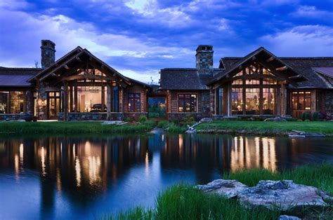 Mountain Floor by Rustic Yet Refined Mountain Home Surrounded By Montana S