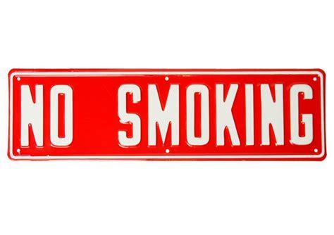 no smoking sign mac startup custom embossed metal signs irwin hodson