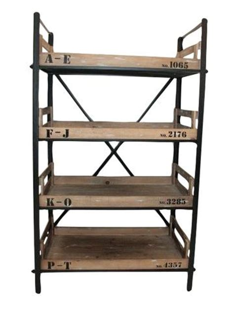 industrial chic shelving industrial metal wood shabby chic office butlers