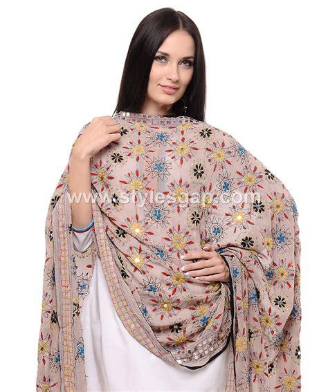 Abaya Sandi Dress phulkari dress designs 2018 19 dupatta trousers