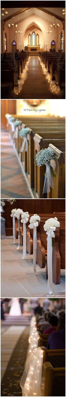 Wedding Aisle Ideas Church by Best 25 Church Wedding Decorations Ideas On