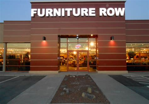 Furniture Row Locations by Furniture Stores Update Exterior With Aluminum Composite